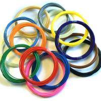 Пластик (стержень) для 3D ручки PLA (10м, 1.75мм) цвет в ассортименте