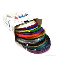 UNID Набор пластика для 3D ручек: PLA-20 (по 10м. 20 цветов в коробке)