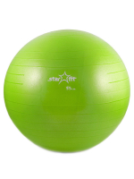 Мяч гимнастический STARFIT GB-101 55 см, зеленый (антивзрыв) 1/10