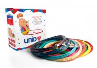UNID Набор пластика для 3D ручек: ABS12 (по 10м. 12 цветов в пакете)