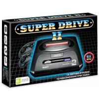 Sega 16bit Super Drive 2 Classic (62-in-1) Black. приставка