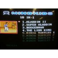 Картридж Dendy 10в1 A-10в1 ARIEL MERMAID+ALADDIN+BOOGERMAN+NINJA TURTLES 1.2.3.4+M.K.-4+THE LION KING...