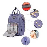 Сумка для мамы, Мама рюкзак с раздвижной кроваткой для пеленания и сна, подвес на коляску, порт USB ЮСБ (качество)