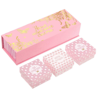 """Набор памятных коробочек для новорожденных """"Наше маленькое счастье"""" (для девочки)"""