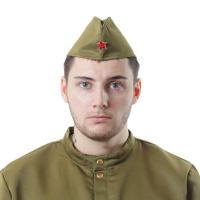 Пилотка военного, виды МИКС