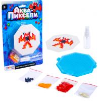 Игровой набор Аквапиксели «Монстрик», 100 деталей