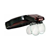 Бинокулярные очки с подсветкой и сменными линзами 81001-B