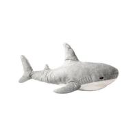 Мягкая игрушка Акула Блохэй серая 70 см