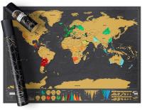 Скретч-карта путешествий ZFG-4