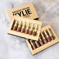 Матовая жидкая губная помада Kylie Birthday Edition 6 оттенков (золото)