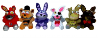 Аниматроник, мягкие игрушки в ассортименте 3д глаза