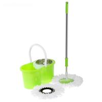 Швабра с ведром Magic Mop комплект для уборки полов с металлической центрифугой