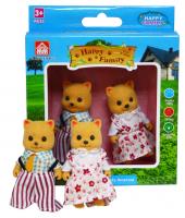 HAPPY FAMILY 2 персонажа кошечки | лисички
