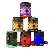Портативная беспроводная Bluetooth блютуз колонка светящаяся (лавовая лампа) Speakers TG-155