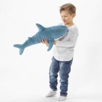 Мягкая игрушка Акула Блохэй 50 см
