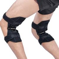 Бандаж-фиксатор колена пружинный J45 (поддерживает, снимает нагрузку с коленей)
