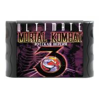 """Картридж SEGA 16 Bit """"Mortal Kombat 3 Ultimate"""" (без коробки)"""