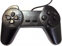 Dendy Controller (форма Sony) 9р Black узкий разъем джойстик