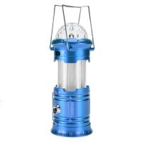 Фонарь складной кемпинговый (встроенный диско шар) SH-5802