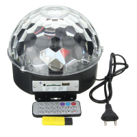 Диско шар (цветомузыка) с  MP3-плеером LED RGB Magic Ball