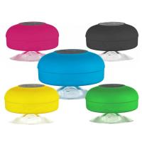 Портативная ВОДОНЕПРОНИЦАЕМАЯ беспроводная Bluetooth блютуз колонка на присоке (для авто и ванной комнаты) WaterProof BTS-06
