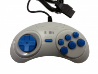 Dendy Controller (форма Sega) 9р узкий разъем джойстик