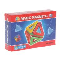 Конструктор магнитный «Геометрические фигуры», 18 деталей