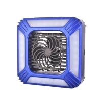 Кемпинговый фонарь + вентилятор + солнечная батарея