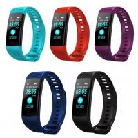 Умный фитнес браслет Goral Y5 (контроль здоровья, уведомлениями с телефона, цветной дисплей)