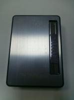 Портсигар в выдачей сигарет и USB зажигалка спираль 2 в 1 45-49