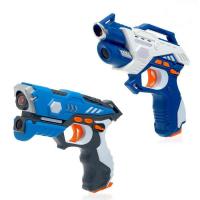 Лазертаг LASERTAG GUN с безопасными инфракрасными лучами, для двух игроков