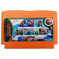 Картридж Dendy 7в1 A-7в1 Mario