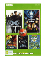 Картридж SEGA 5в1  AB-5009  TMHT/X-MEN 2 /BATMAN & ROBIN /SPIDER-MAN & THE X-MEN+.
