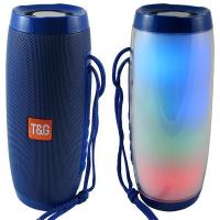 Портативная беспроводная Bluetooth блютуз колонка светящаяся (лавовая лампа) Speakers TG-157