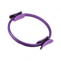 Кольцо для йоги, гимнастики пилатеса (пилатес-круг) 37см фиолетовый
