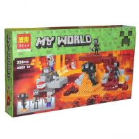 """Конструктор My World Мой Мир """"Иссушитель"""" 10469 324 дет BELA"""