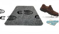 Супервпитывающий придверный коврик New Clean Step Mat (Клин Степ Мат) цвет в ассортименте