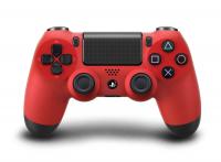 Джойстик PS 4 Controller Wireless Dual Shock (G2) Red красный  аналог коробка