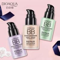 BB-крем для выравнивания тона лица  (натуральный цвет) Bioaqua Super Wearing 30мл