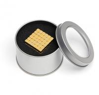Магнитные кубики НЕОКУБ (золото)
