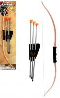 Набор Лук и три стрелы на присосках Warriors Super Equipment