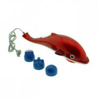 Массажер ручной инфракрасный Dolphin (Дельфин) 3 массажные насадки