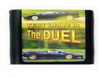 Картридж Sega Test drive 2 the duel русская версия (16 бит без коробки)