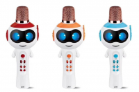 Караоке микрофон для детей с Bluetooth РОБОТ L838