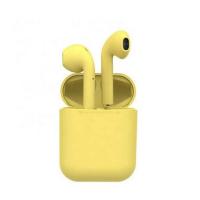 Беспроводные Bluetooth блютуз наушники в форме Aйподс TWS inPods12 Macaron
