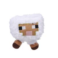 Белая овечка Майнкрафт мягкая игрушка 10см