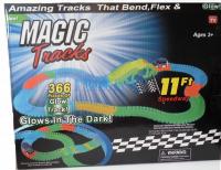 Свет гнущ трек Magic Track 366 дет УЗКИЙ (1 машинка, мост)