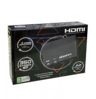"""Игровая гибридная приставка (консоль) 8 bit/16 bit """"HAMY 4"""" Black HDMI (350 встроенных игр)"""