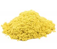 """набор ТМ """"Космический песок"""", желтый 0,5 кг ведро"""
