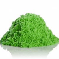 """набор МИКС 2 по 150г, ТМ """"Космический песок"""", песочный,  зеленый, пластичный, + формочка, 0,3кг"""